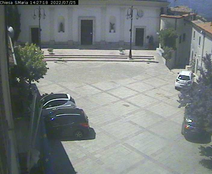 Webcam Pettoranello del Molise IS - Chiesa Santa Maria