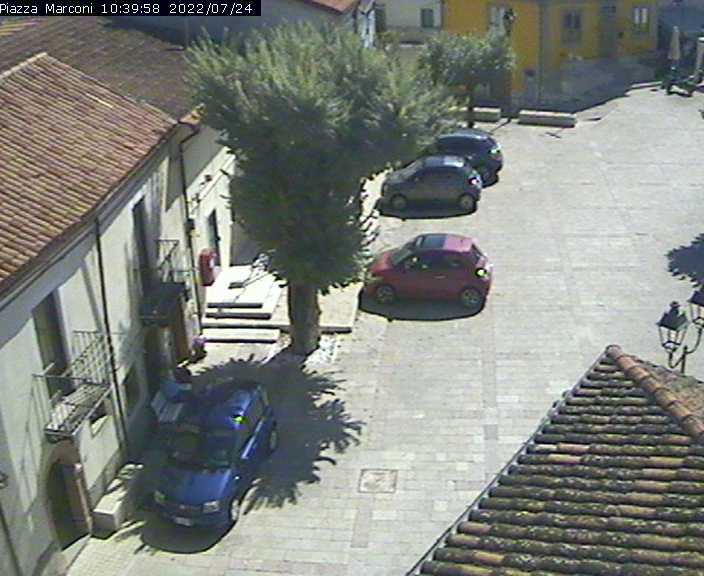 Webcam Pettoranello del Molise IS - Piazza Marconi